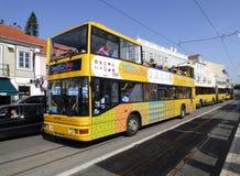Lisbon tourist bus Royalty Free Stock Photo