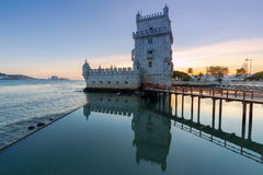 Lisbon. The Tower Belem. Royalty Free Stock Photography