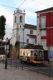 Lisbon traditional tram Stock Photo