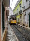 Lisbon tram royalty free stock photo
