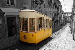 Lisbon Tram. Lisbon and the typical tram Royalty Free Stock Photography