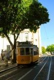 Lisbon tram car royalty free stock images