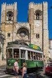 Lisbon tram car Portugal. Stock Image