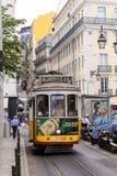 Lisbon Tram Cars Royalty Free Stock Photography