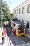 Lisbon Tram Cars Stock Image