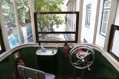 Lisbon Tram Cars Royalty Free Stock Image