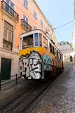 Lisbon Tram Cars Royalty Free Stock Photos