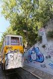 Lisbon Tram Cars Stock Photography