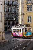 Lisbon Tram City Symbol Stock Photography
