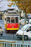 Lisbon tram stock photography