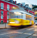 Lisbon tram, Portugal Royalty Free Stock Images