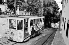 LISBON tramwaj Obraz Royalty Free