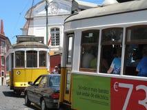 lisbon tramwaj Obraz Stock