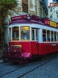 lisbon tramwaj Zdjęcia Stock