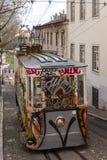 Lisbon tramwaju samochód Portugalia Zdjęcia Stock