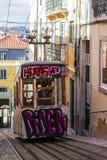 Lisbon tramwaju samochód Portugalia Obrazy Stock