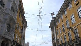 Lisbon tramwaju transport Obrazy Royalty Free