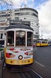 lisbon turysty tramwaj Obrazy Royalty Free