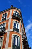 Lisbon Typical Building Stock Photo