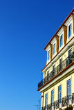 Lisbon typisk byggnad Royaltyfria Foton