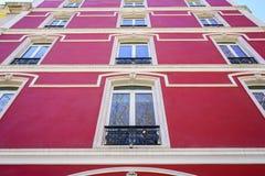 Lisbon typiska byggnader Royaltyfria Bilder