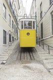 Lisbon ulicy tramwaj Obraz Stock