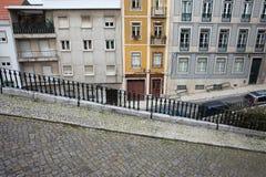 Lisbon Urban Scenery Stock Photo