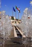 Lisbon vattenfunktion Arkivbild