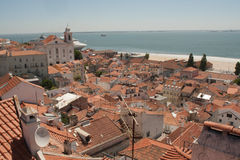 Lisbon view Royalty Free Stock Photos