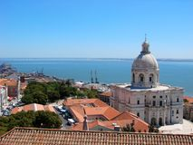 Lisbon view Royalty Free Stock Image
