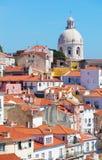 Lisbon, view of Alfam's region Stock Images
