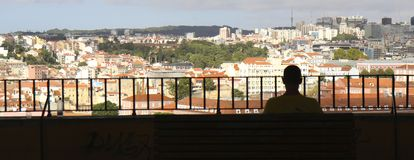 Lisbon view Stock Images