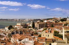 Lisbon view Royalty Free Stock Photo