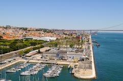 Lisbon view Royalty Free Stock Photo