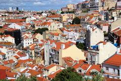 Lisbon view from Pantheon Royalty Free Stock Photography