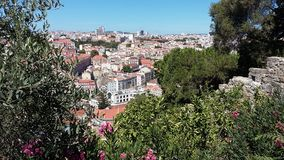 Lisbon_2. View of Lisbon, Portugal, Europe Royalty Free Stock Images