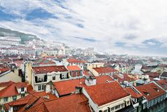 Lisbon, view to the Alfama Stock Photos