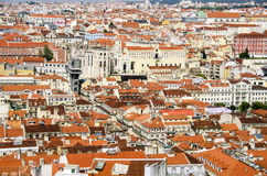 Lisbon. View from the top Stock Photography