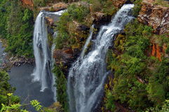 Lisbon waterfall, South Africa Stock Image
