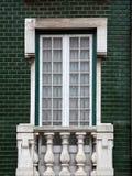 Lisbon window Royalty Free Stock Image