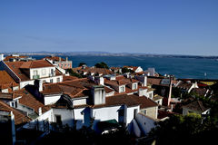 Lisbon. A wonderful view of the main city of Portugal stock photos
