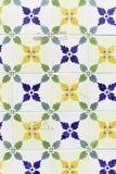 Lisbon yellow tiles Stock Photography