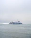 Lisbona al traghetto di Almada Fotografia Stock