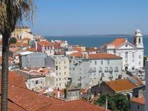 Lisbona - Alfama Fotografia Stock Libera da Diritti