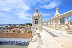 Lisbona Alfama trascura Immagine Stock Libera da Diritti