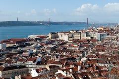 Lisbona Cityview portugal Immagini Stock Libere da Diritti