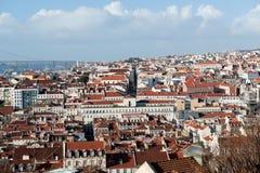 Lisbona Cityview portugal Fotografie Stock