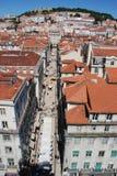 Lisbona con un'occhiata Fotografie Stock