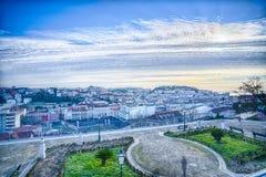 Lisbona del centro, Portogallo Fotografia Stock