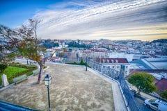 Lisbona del centro, Portogallo Immagine Stock